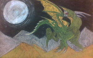 Dragon in Flight by phythonking