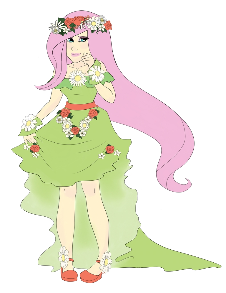 The Gallery For Gt Fluttershy Coronation Dress