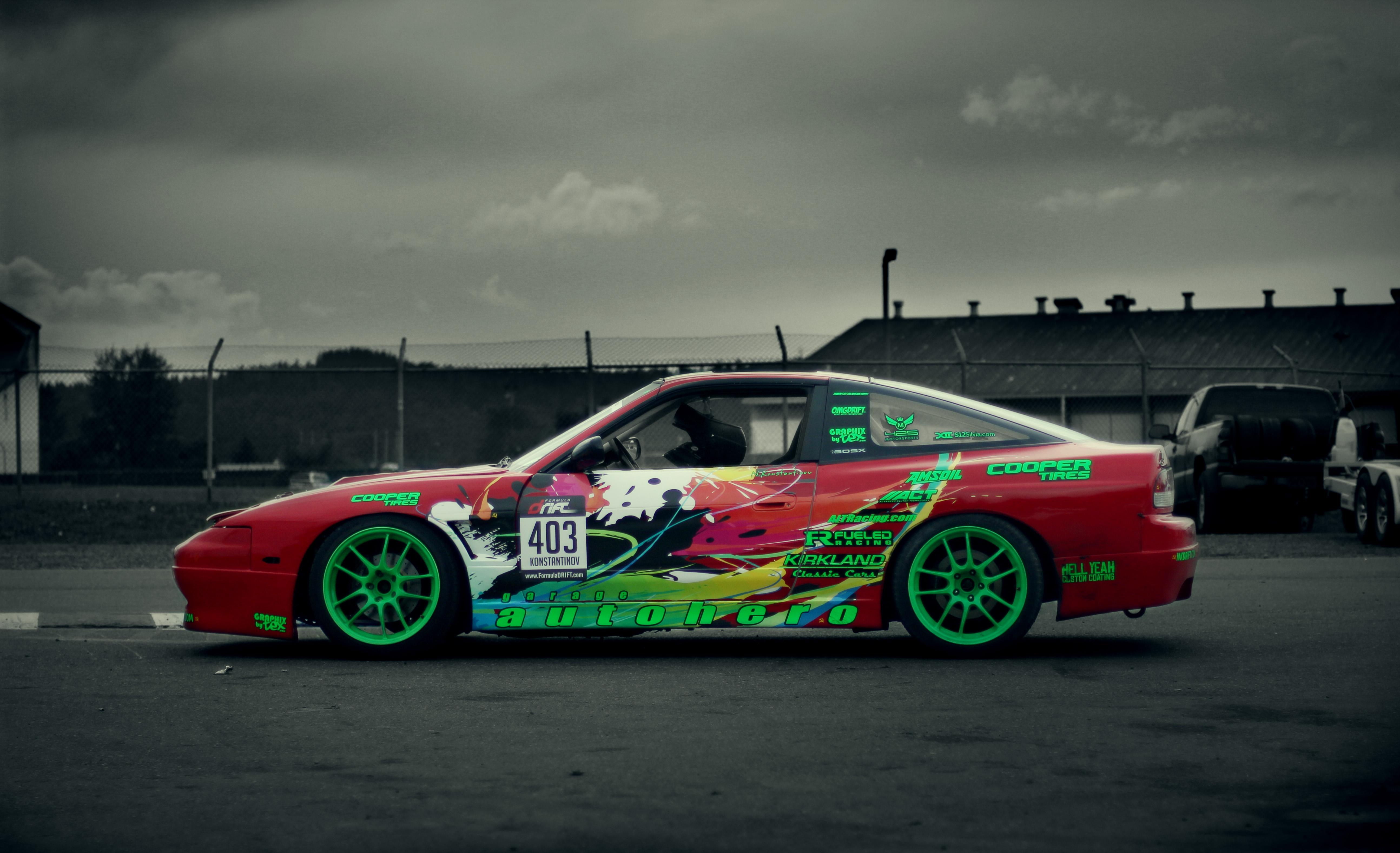 nk racing nissan 240sx formulad drift car by projektpm on