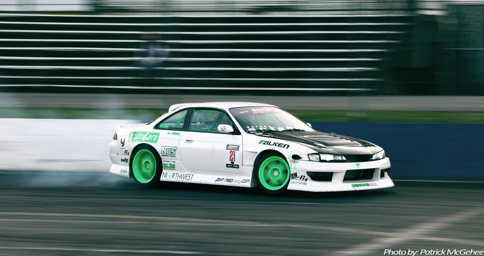240sx (S14) Drifting by projektPM on DeviantArt