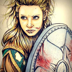 Lagertha the mother of the blood