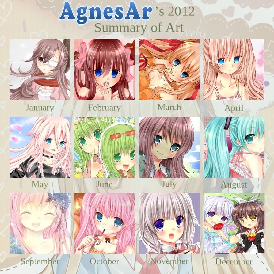 2012 Art Summary by AgnesAr