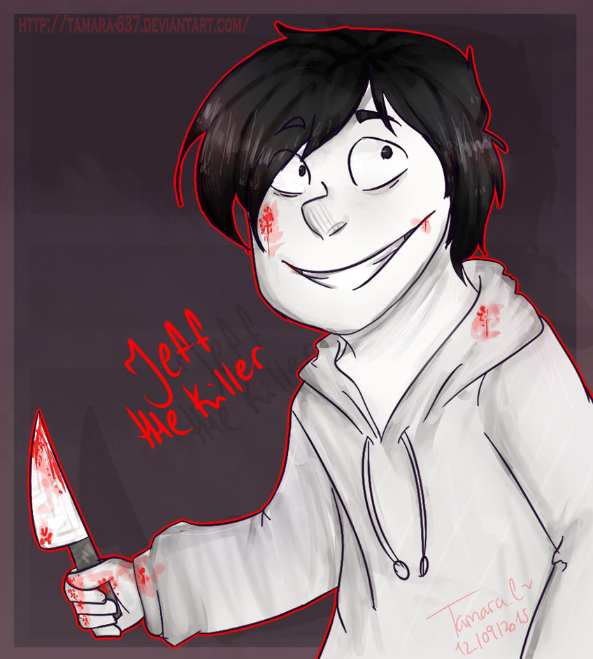 redraw jeff the killer -#main