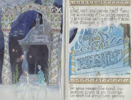 Illuminated Manuscript: Erde PG 16-17