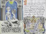 Illuminated Manuscript: Erde PG 4-5 by Lijj