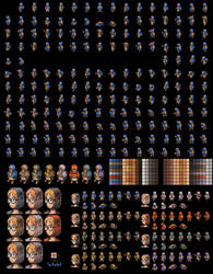 Medic female full sprite sheet by Lijj