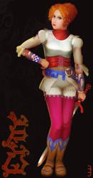 Erde Full Body Character Profile by Lijj