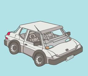 Economy Sedan by Lijj