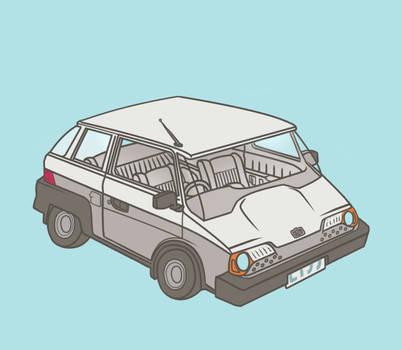 Economy Hatchback by Lijj