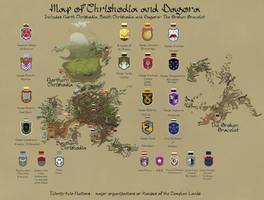 Map of Chrishodia and Dagora