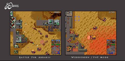 Dune RTS Ultrawide Mockup by Lijj