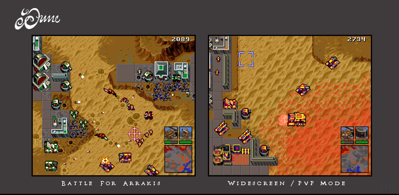 Dune RTS Ultrawide Mockup