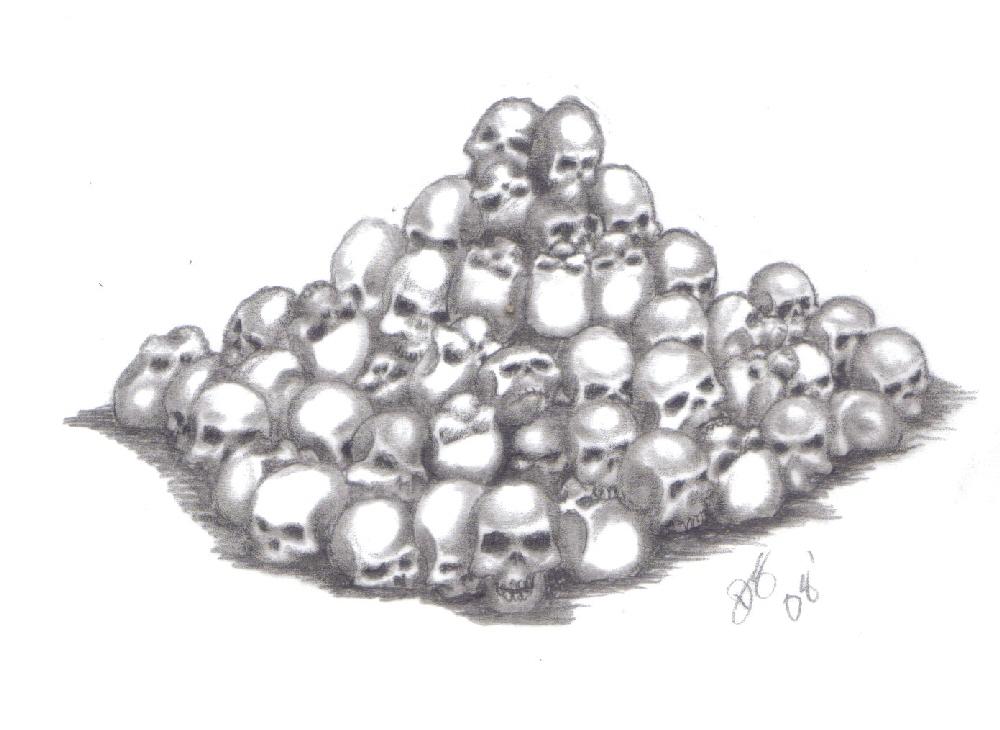 pile o 39 skulls by kurgan29 on deviantart. Black Bedroom Furniture Sets. Home Design Ideas