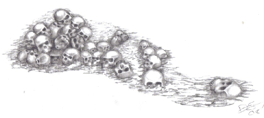 another pile o 39 skulls by kurgan29 on deviantart. Black Bedroom Furniture Sets. Home Design Ideas