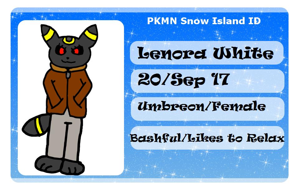 PKMNSI-Lenora by DarkFox98