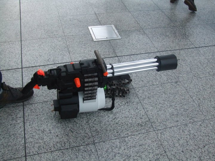 Team Fortress 2 - Sasha Nerf gun by DenWingZero