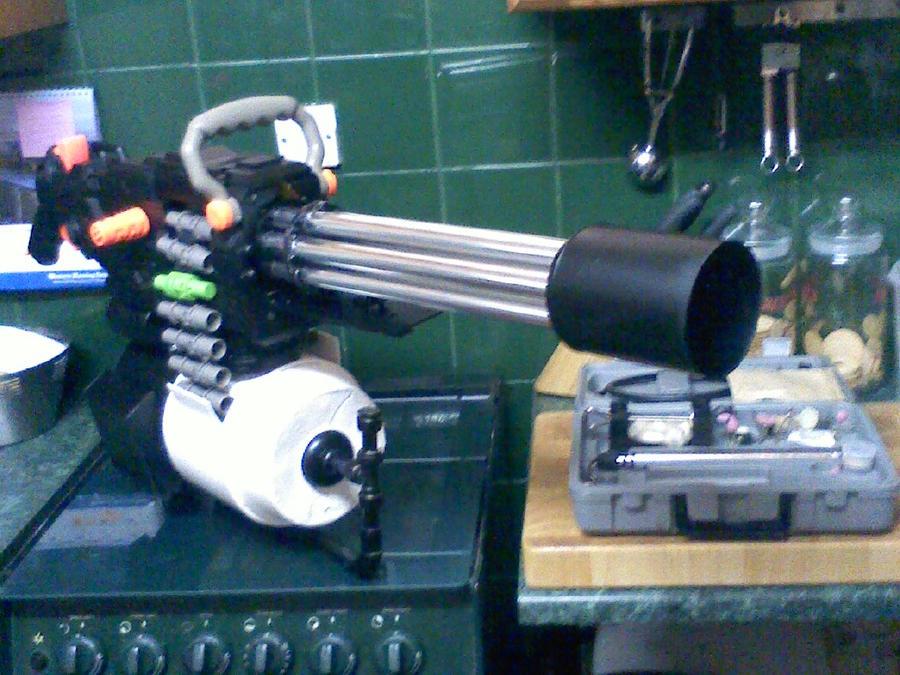 Team Fortress 2 - Sasha Nerf gun 1 by DenWingZero