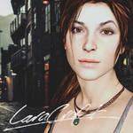 Signed by Lara Croft.