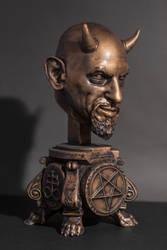 10 inch - Satan Devil Anton Szandor LaVey fan Art