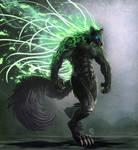 The ancient werewolf