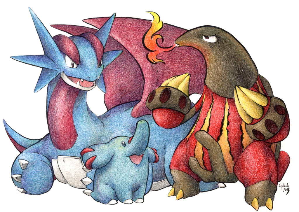 Team Salamence646 by Siplick