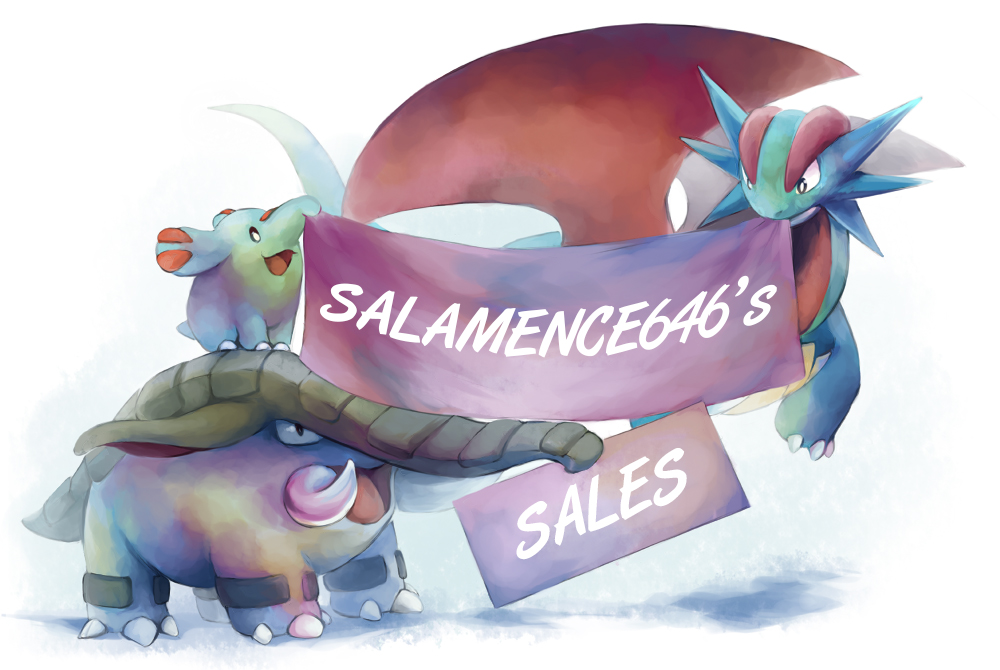 Salamence646's sales banner by Siplick