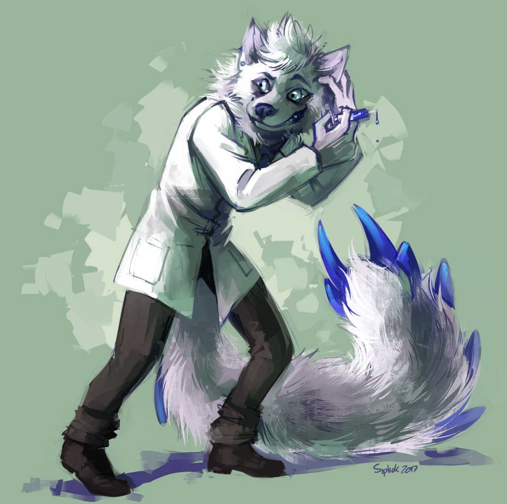 Mad Scientist by Siplick