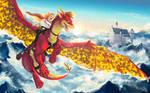 Dregonard and Gatzumara's flight