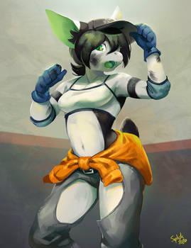Hard-working Lyra!