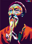 Chinese Old Man in WPAP