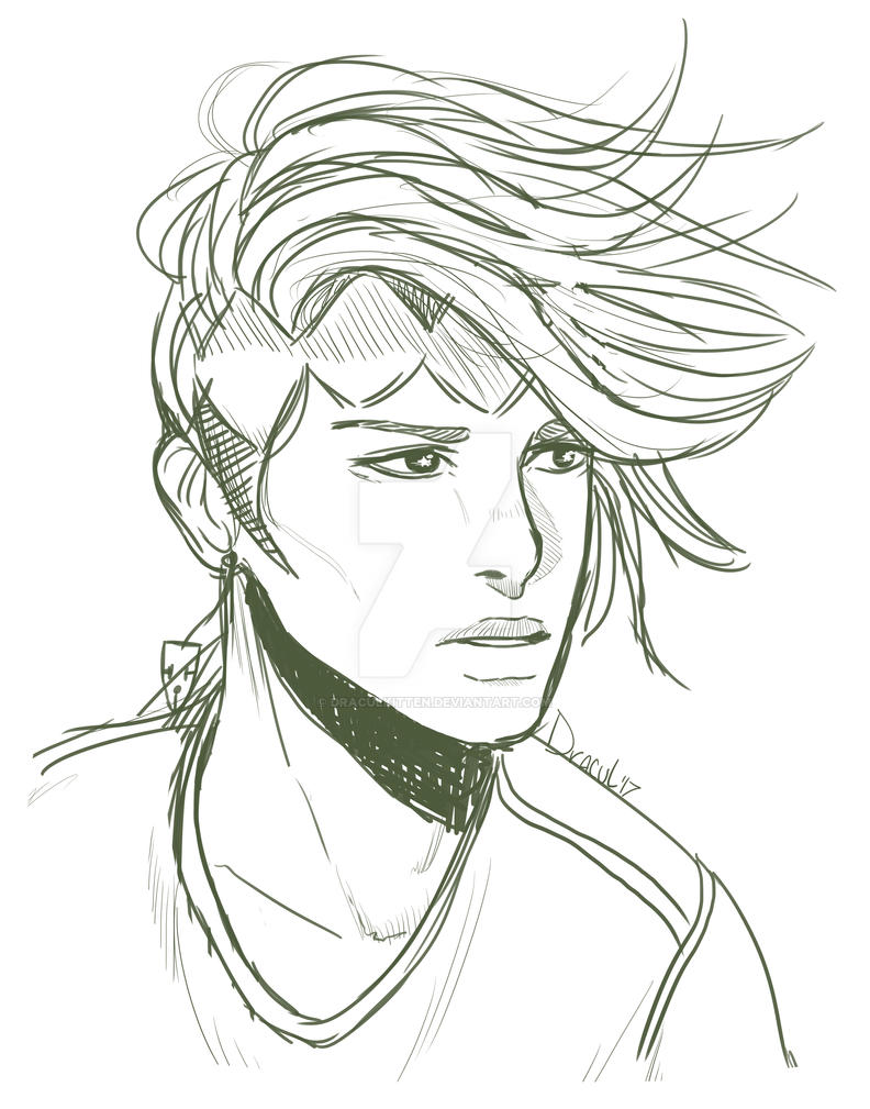 Rohan Sketch  by TheCatThatFlys