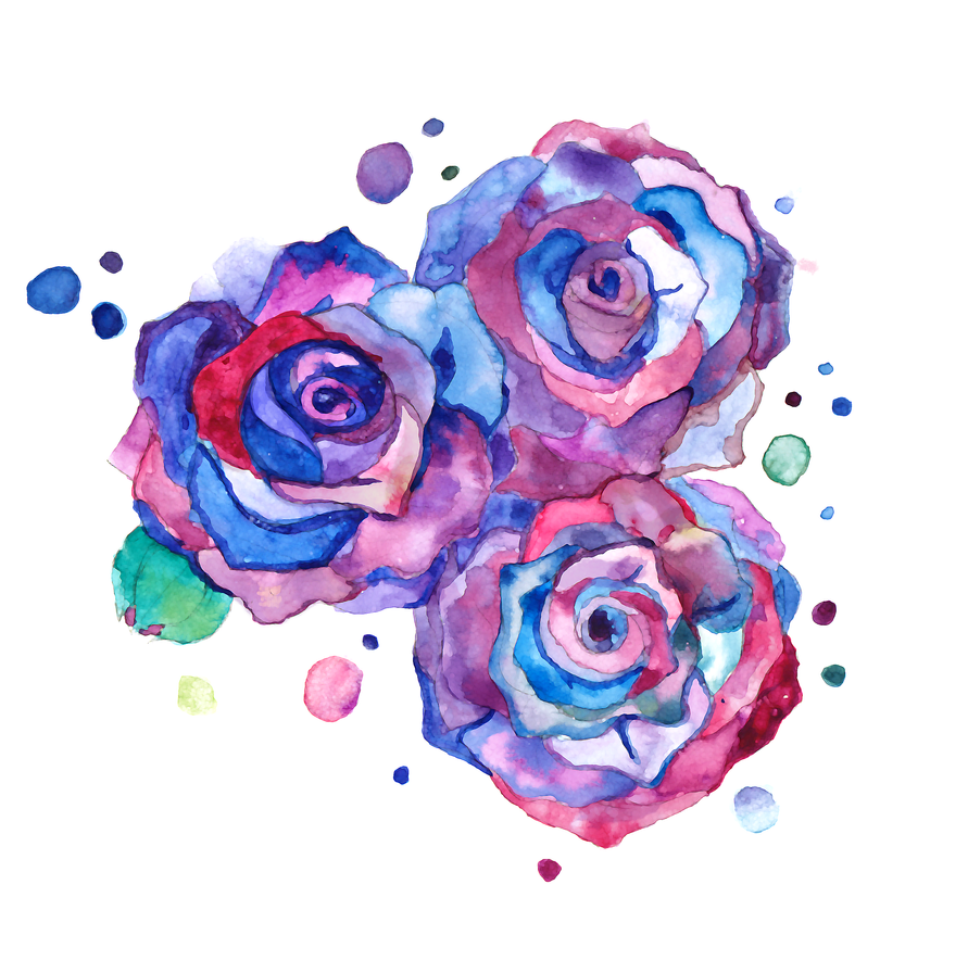 watercolour_roses_by_kaynime-d4wx35u.png