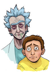 RICK AND MORTY by Kaynime