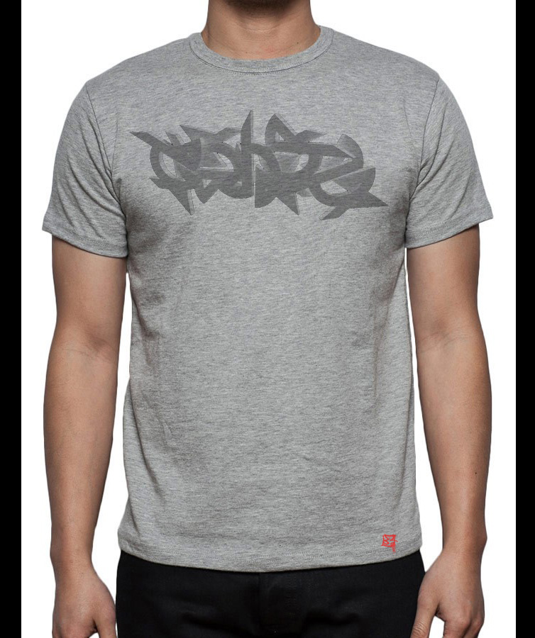 Gray Genta T-shirt by Genta49