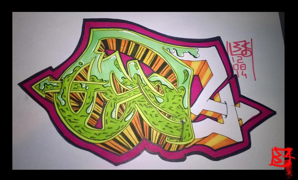 Terragenesis Graffiti by Genta49