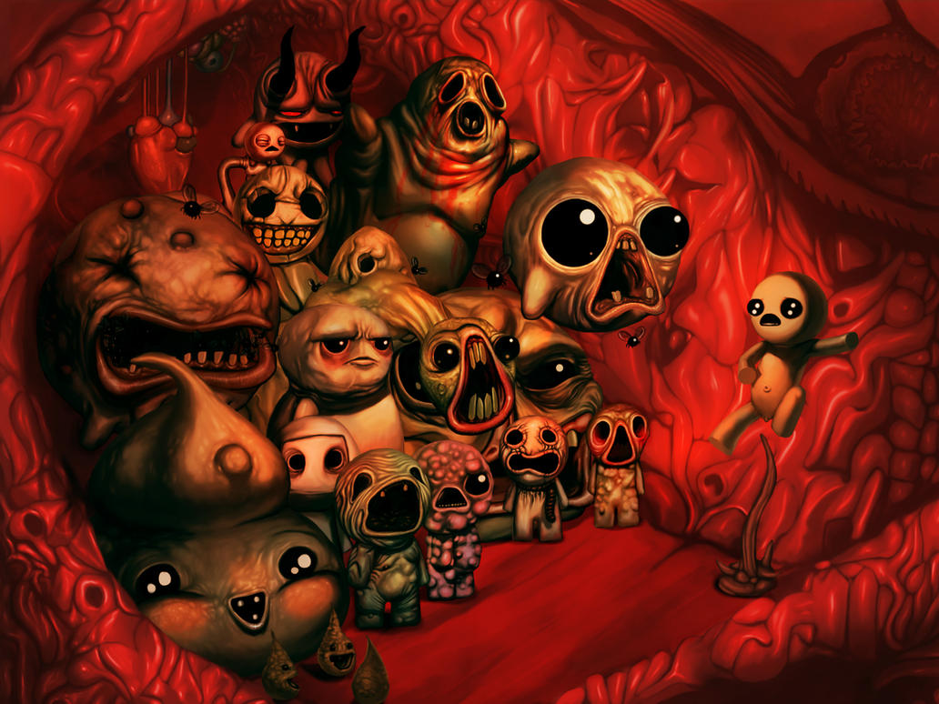 Binding of isaac rebirth fanart by auoro on deviantart