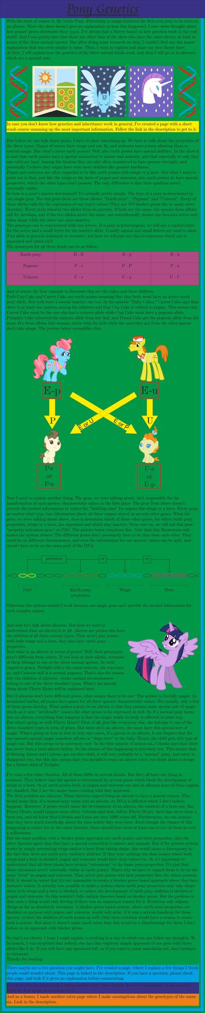 Pony Genetics by LPMx
