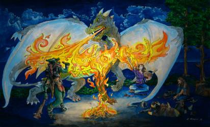 The Illusion of a Dragon