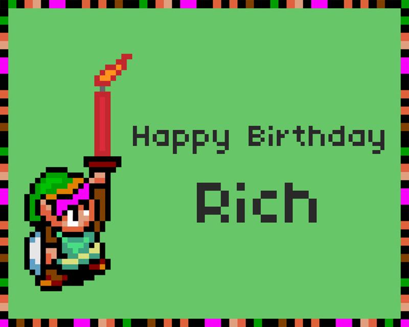 bit birthday card by artjom on deviantart, Birthday card