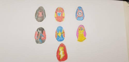 Avengers Egg-Game by Harejules