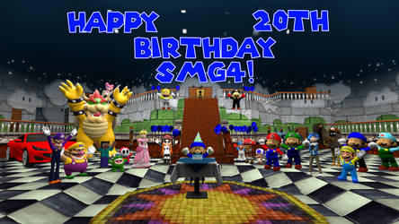 Happy 20th Birthday SMG4! by Harejules