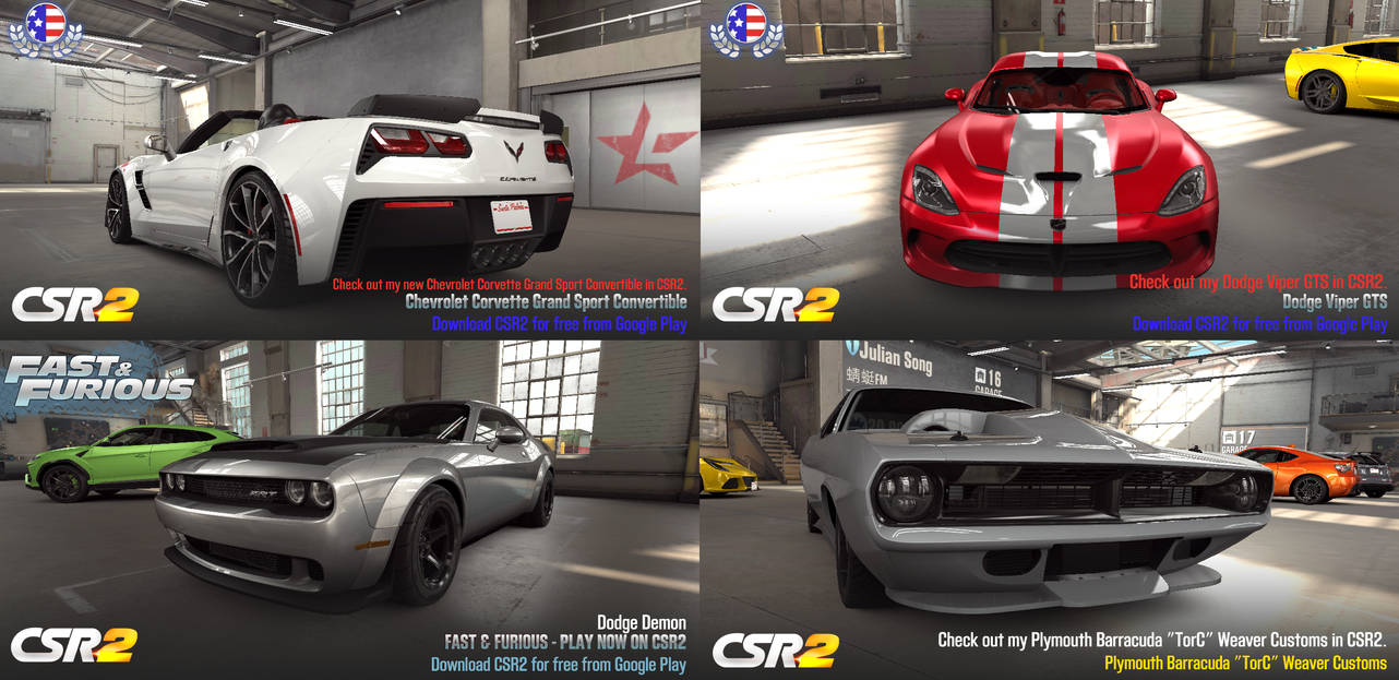 Try These Corvette Grand Sport Csr2 Tune {Mahindra Racing}