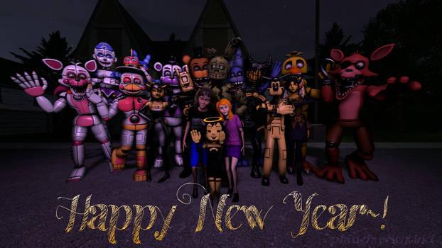 Belated Happy New Year (FNAF/BATIM)