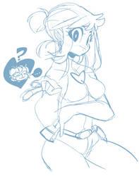 Loose snoop sketch by geekysideburns