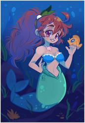 Mermaid by geekysideburns
