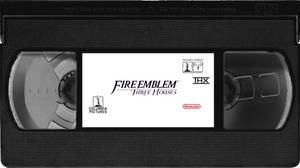 Fire Emblem 3 Houses VHS tape