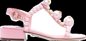 Pink pearl sandal