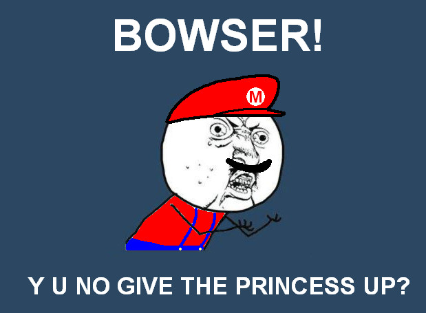 Y U No Meme Funny : Y u no mario meme by offzone on deviantart