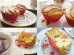 Apple Custard Cakes