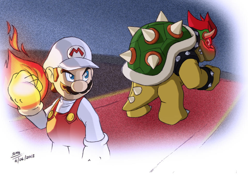 Final Battle (Mario Vs. Bowser) by elmago6000